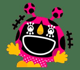 ladybird Nana-chan's love sticker sticker #238550
