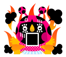 ladybird Nana-chan's love sticker sticker #238552