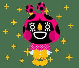 ladybird Nana-chan's love sticker sticker #238554