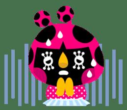 ladybird Nana-chan's love sticker sticker #238555