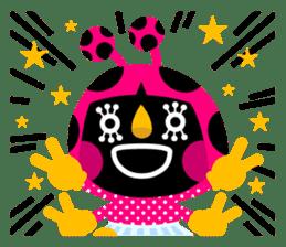 ladybird Nana-chan's love sticker sticker #238556