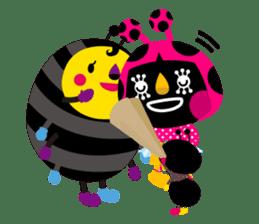 ladybird Nana-chan's love sticker sticker #238559