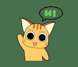 Planet Cat sticker #238561