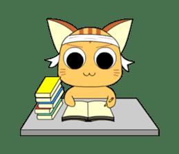 Planet Cat sticker #238568