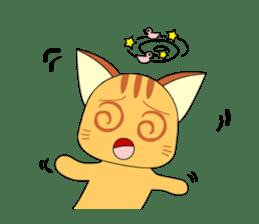 Planet Cat sticker #238569