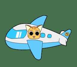 Planet Cat sticker #238570