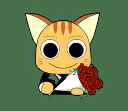 Planet Cat sticker #238571