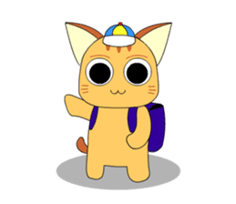 Planet Cat sticker #238576