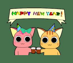 Planet Cat sticker #238577