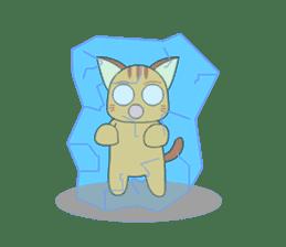 Planet Cat sticker #238578