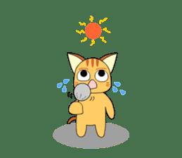 Planet Cat sticker #238579