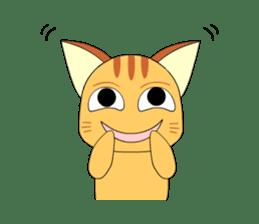 Planet Cat sticker #238580