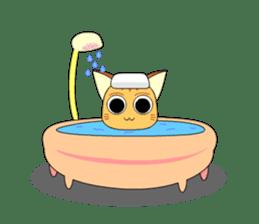 Planet Cat sticker #238581