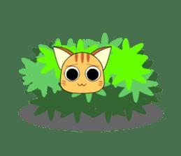 Planet Cat sticker #238582