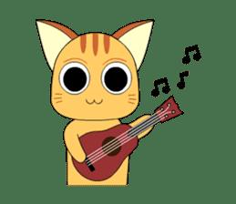 Planet Cat sticker #238585