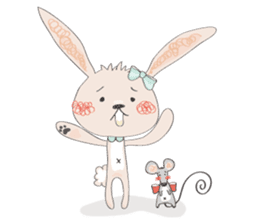 Momo and Bobo from Momo Chao is... sticker #238769