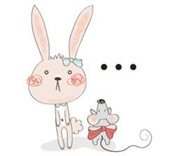 Momo and Bobo from Momo Chao is... sticker #238772