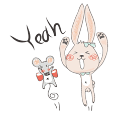 Momo and Bobo from Momo Chao is... sticker #238780