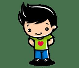 LOVE ONLY ONE - KOKO AND KIKI sticker #240216