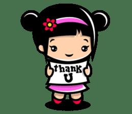 LOVE ONLY ONE - KOKO AND KIKI sticker #240220