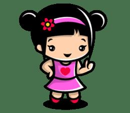 LOVE ONLY ONE - KOKO AND KIKI sticker #240221