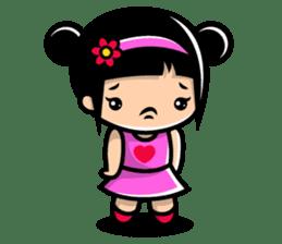 LOVE ONLY ONE - KOKO AND KIKI sticker #240228