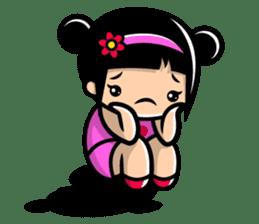 LOVE ONLY ONE - KOKO AND KIKI sticker #240230