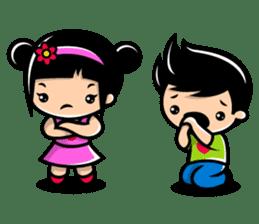 LOVE ONLY ONE - KOKO AND KIKI sticker #240236