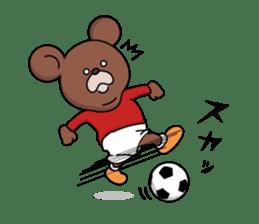 Mejiroguma - Soccer club ver - sticker #240254