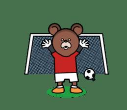 Mejiroguma - Soccer club ver - sticker #240256