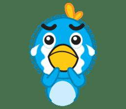 Mr. Blue Bird sticker #240486