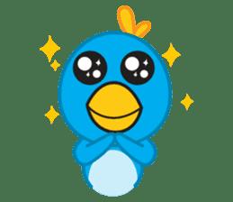 Mr. Blue Bird sticker #240487