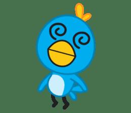 Mr. Blue Bird sticker #240496