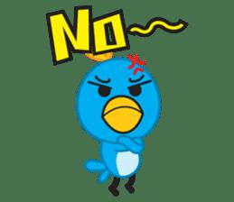 Mr. Blue Bird sticker #240506