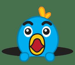 Mr. Blue Bird sticker #240519