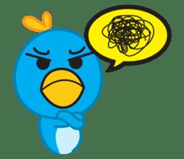 Mr. Blue Bird sticker #240520