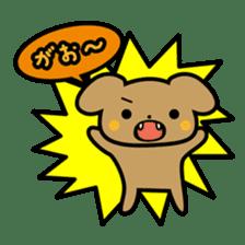 Waffles puppy sticker #241465