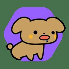 Waffles puppy sticker #241467