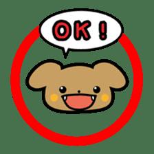 Waffles puppy sticker #241470