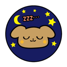 Waffles puppy sticker #241473