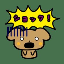 Waffles puppy sticker #241475