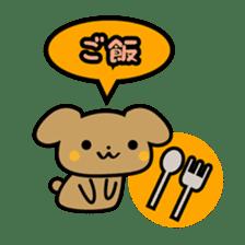 Waffles puppy sticker #241478