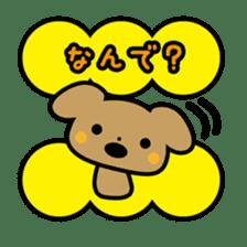 Waffles puppy sticker #241480