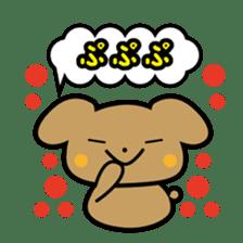 Waffles puppy sticker #241481