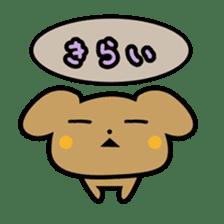 Waffles puppy sticker #241492