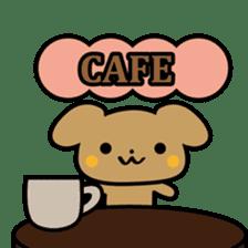Waffles puppy sticker #241496