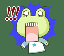 KAERU-SAN sticker #241590