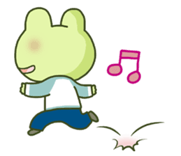 KAERU-SAN sticker #241591