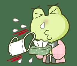 KAERU-SAN sticker #241602