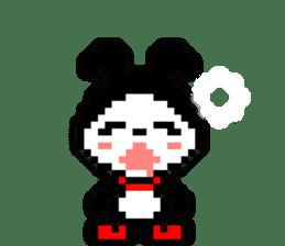 rabbit-hareconi(Pixelated version) sticker #241715